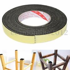 5m Black Single Sided Self Adhesive Foam Tape Closed Cell 20mm Wide x 3mm Thick