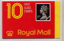 Gb 1989 10 x 1st Class Stamps Barcode Booklet Hd2