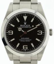Rolex Oyster Perpetual Explorer Herren- Armbanduhr Ref. 214270 in Edelstahl