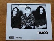 TIMCO Kevin Thomson Nice Strong Arm 8x10 BLACK & WHITE Press Photo 90's ROCK