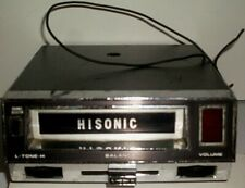 Hisonic Car 8 Track Tape Playerfor Parts Or Not Workingfree Us Shipping