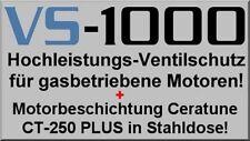 2x Ventilschutz a. 1 Liter LPG CNG + 2x Additiv CeraTune a. 250 ml Beschichtung