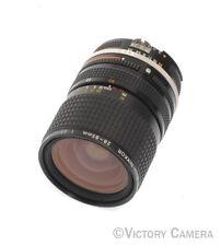 Nikon Nikkor 28-85mm f3.5-4.5 AI-S Manual Focus Zoom Lens -Very Clean (91121-17)
