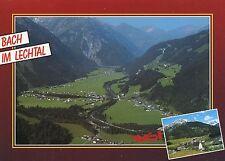 Alte Postkarte - Bach im Lechtal