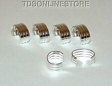Silver Plated Adjustable Ear Cuffs  Package Of 36