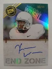 2012 Press Pass Kendall Wright Baylor Chicago Bears 09/99 - Auto