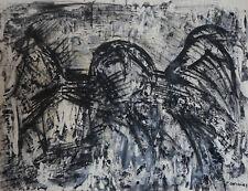 JACQUES CHEVALIER (1924/1999)  Encre - COMPOSITION ABSTRAITE   - Signé