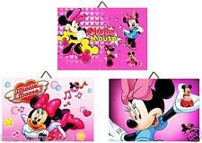 3 Cadres / Tableaux chambre enfant  Minnie   01