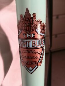 The Light Blue Trinity Cycle Frame Set Reynolds 531 Butted Tube Set