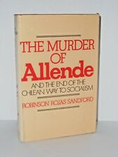 The Murder of Allende by Robinson Rojas Sandford - 1976, H/C - The other 9/11