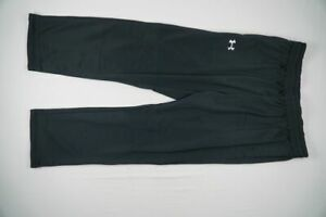 Under Armour Athletic Pants Men's Black Poly NEW Multiple Sizes