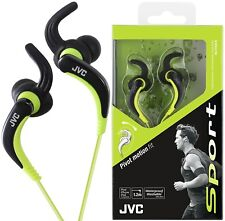 JVC HA-ETX30 BLACK Waterproof & Washable Sports Pivot Motion Fit Earphones /NEW