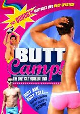 Butt Camp - The Only Gay Workout (DVD, 2012) NEW AND SEALED
