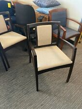 Guest Lobby Chair By Beo By Kimball Office Furniture With Espresso Wood Frame