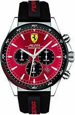 Armbanduhr Scuderia Ferrari 830595 Analog Dornschließe Chronograph Rund B-WARE