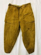 """Vintage 1950's Hunting Outdoor Insulated Work Pants Horseblanket Lined Mens 36"""""""
