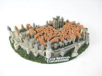 Carcassonne Festung Languedoc Poly Modell 12 cm Frankreich Souvenir