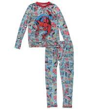 Komar K181248MV Spider-Man 2pc PJ Set, Multi, M