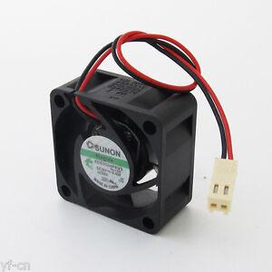 1pc SUNON MagLev DC Cooling fan KDE0504PKV3 40x40x20mm 4020 DC 5V 0.4W 2pin/wire