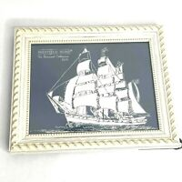 "Sheffield Home The Nautical Collection 8"" x 10"" Picture Frame Off White T"