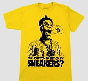 SNEAKER HEAD T SHIRT COLORS & SIZES BUGGIN OUT DO THE RIGHT THING JORDAN  4 NIKE