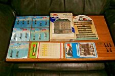 Lot of Vintage N Scale Accessories Fence Lights Signs People Telephone Poles
