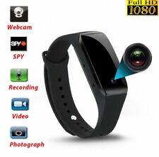 1080P 32GB Spy Hidden video Camera Wrist Watch IR Waterproof DVR
