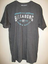 Billabong Stackhouse Graphic T Shirt NWT L Heather Gray