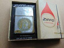 1969 Original Vietnam War Zippo Lighter US Pacific Fleet