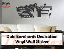 Dale Earnhardt Dedication Racing Vinyl Wall Sticker