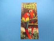 Vintage Travel Brochure, Miami's Parrot Jungle, S313