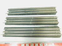 BP307-0,5# 3x Trix Express H0/DC Übergangsgleis: Bakelit zu Pappschwelle
