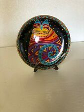 Laurel Burch Feline Collector Plates from the 90's Franklin Mint- Lot of 4 plate