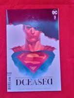 Dceased #3 Card Stock Horror Variant DC Comics VF NM