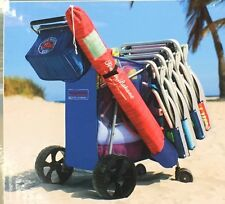 Tommy Bahama Beach Cart  WITH  REMOVABLE COOLER BAG