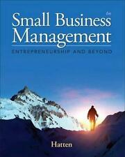 NEW Small Business Management By Timothy S. Hatten Hardcover Free Shipping