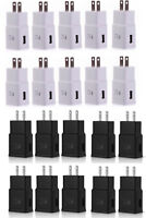 LOT ADAPTIVE FAST CHARGING WALL CHARGER ADAPTER FOR SAMSUNG S6/7 NOTE 4/5