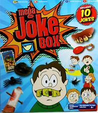 Grafix Mega broma Caja 10 chistes Juguete Divertido Juego De Truco Broma Práctica clásico conjunto