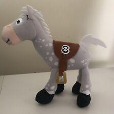 "Disney Parks Bullseye Plush Toy Story Racehorse #8 Spotted Appaloosa Horse 9"""