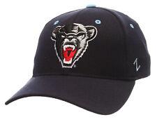 MAINE UNIVERSITY BLACK BEARS NCAA NAVY FLEX-FIT CAP HAT ZH Z-FIT SIZE: M/L NWT!