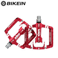 "3 Sealed Bearing MTB Mountain Bike Cycle Bicycle Platform Pedals 9/16"" Aluminum"