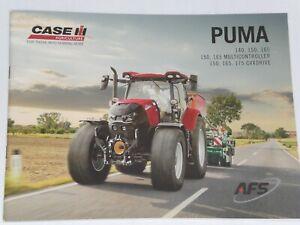 CASE IH PUMA 150, 165, 175 CVXDRIVE Traktoren Prospekt von 04/2021 ( Auktion 79)