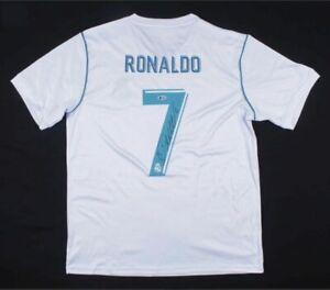 Cristiano Ronaldo Signed Real Madrid Jersey Beckett COA!!!