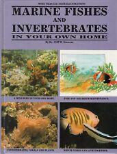MARINE FISHES & INVERTEBRATES Dr Cliff W Emmens **VERY GOOD COPY**