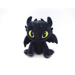 How To Train Your Dragon 3 Toothless Plush Rag Doll with Tag 25cm Cute Design