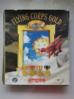 FLYING CORPS GOLD 90s BIG BOX PC VIDEO GAME CD-Rom 1997 Win WWI Flight Sim