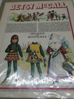 1970 VINTAGE BETSY MCCALL OPEN HOUSE AT BETSYS SCHOOL  PAPER DOLLS UNCUT UNUSED