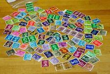 GB QEII Pre-Decimal/Decimal Machin Selection of 100 x Stamps. (Ref: 5)