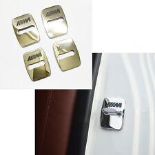 4PCS BMW M Logo Car Türschlösser Edelstahl Schutzabdeckung Für BMW 1 3 4 5 6 7er