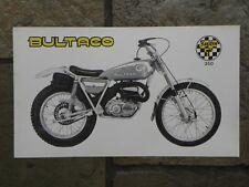 Bultaco Sherpa T 350 Sales Brochure L, Original NOS